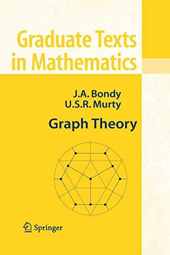 9781849966900: Graph Theory (Graduate Texts in Mathematics)
