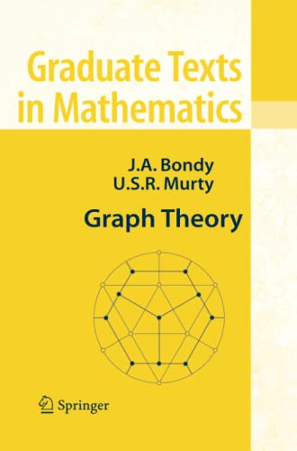 9781849966900: Graph Theory (Graduate Texts in Mathematics)
