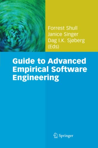 9781849967129: Guide to Advanced Empirical Software Engineering