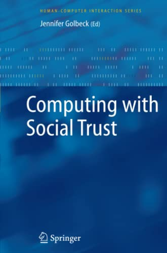 Computing with Social Trust (Human-Computer Interaction Series)