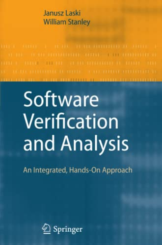 9781849968294: Software Verification and Analysis: An Integrated, Hands-On Approach
