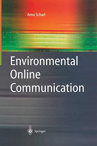 9781849969130: Environmental Online Communication (Advanced Information and Knowledge Processing)