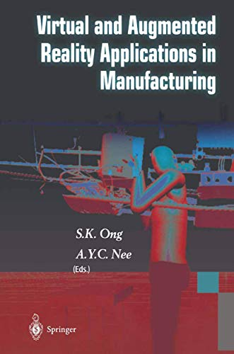 9781849969215: Virtual and Augmented Reality Applications in Manufacturing