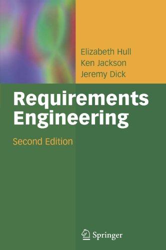 9781849969420: Requirements Engineering