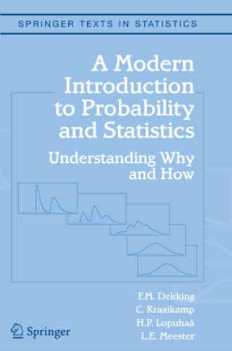 9781849969529: A Modern Introduction to Probability and Statistics: Understanding Why and How (Springer Texts in Statistics)