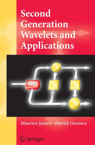 9781849969581: Second Generation Wavelets and Applications
