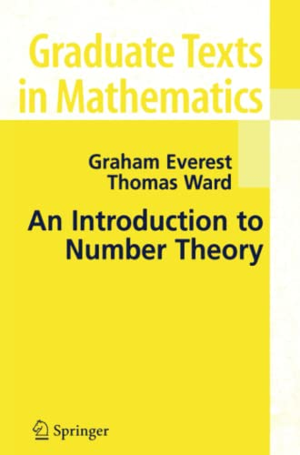 9781849969598: An Introduction to Number Theory (Graduate Texts in Mathematics)