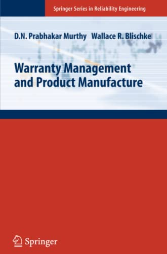 9781849969642: Warranty Management and Product Manufacture (Springer Series in Reliability Engineering)