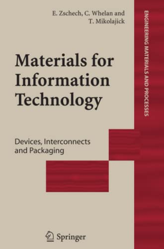 9781849969673: Materials for Information Technology: Devices, Interconnects and Packaging (Engineering Materials and Processes)