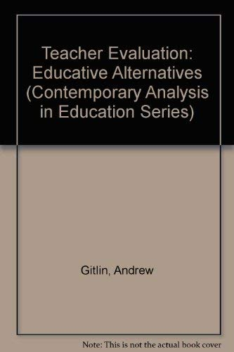 9781850005223: TEACHER EVALUATION CL (Contemporary Analysis in Education)
