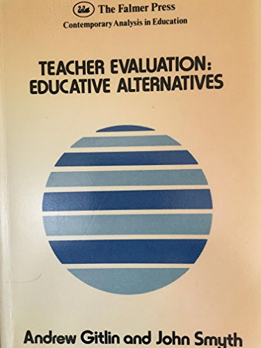 9781850005230: TEACHER EVALUATION PB (Contemporary Analysis in Education)