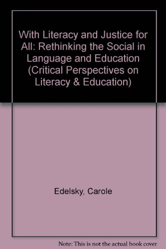 9781850006640: WITH LITER & JUST FOR ALL SEE 2/ED (Critical Perspectives on Literacy and Education Series)