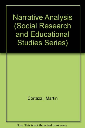 9781850009627: Narrative Analysis (SOCIAL RESEARCH AND EDUCATIONAL STUDIES SERIES)