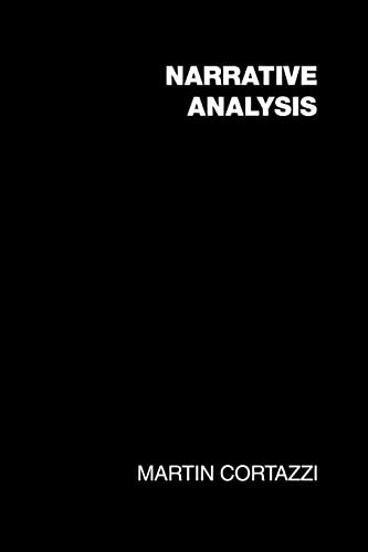 9781850009634: Narrative Analysis (SOCIAL RESEARCH AND EDUCATIONAL STUDIES SERIES)
