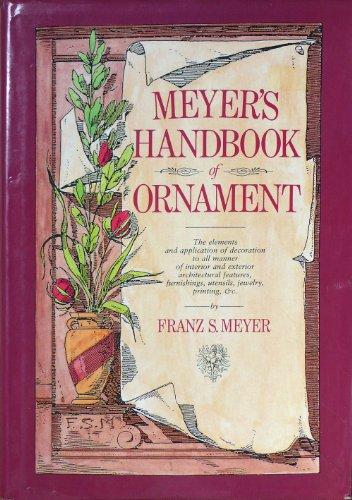 9781850070382: Meyer's Handbook of Ornament