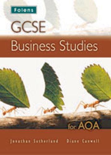 9781850082460: GCSE Business Studies: Student Book - AQA
