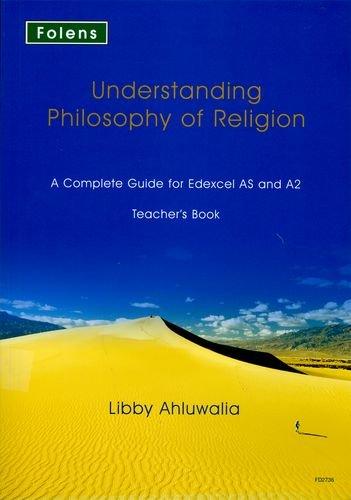 9781850082736: Understanding Philosophy of Religion: Edexcel Teacher's Support Book