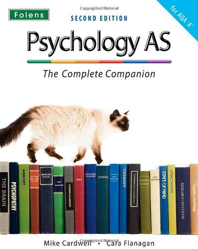 9781850082880: Complete Companions: AS Student Book for AQA A Psychology