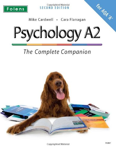 9781850082897: The Complete Companions: Psychology A2 - The Complete Companion for AQA 'A' (Textbook) (Complete Companion)