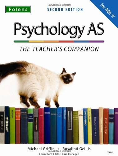 9781850082958: The Complete Companions: AS Teacher's Companion for AQA a Psychology