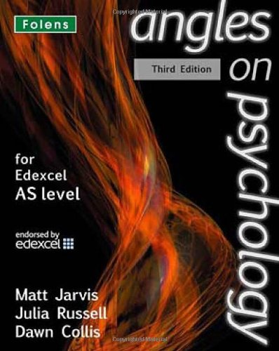 9781850082989: Angles on Psychology: AS Student Book Edexcel