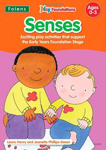 9781850083399: Senses (Play Foundations (Age 0-3 Years))