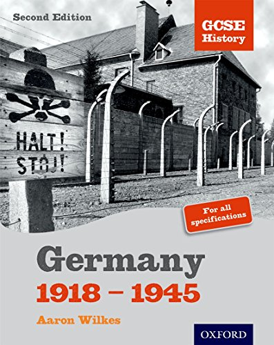 9781850084594: GCSE History: 2nd Edition Germany 1918-1945 Student Book (Gcse History S.)