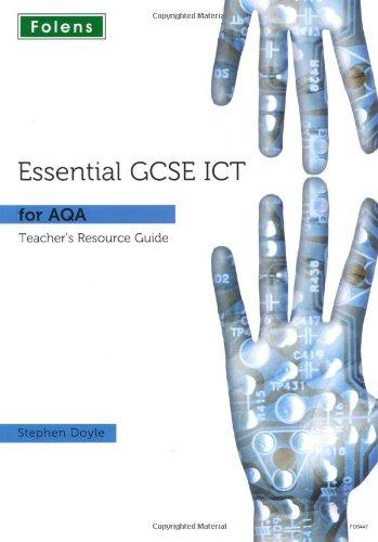 9781850085447: Essential ICT GCSE: Teacher Guide + DVD for AQA