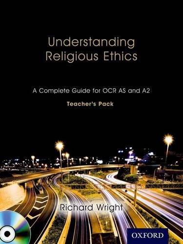 9781850085546: Understanding Religious Ethics: A Complete Guide for OCR AS and A2 Teacher's Pack + CD-ROM