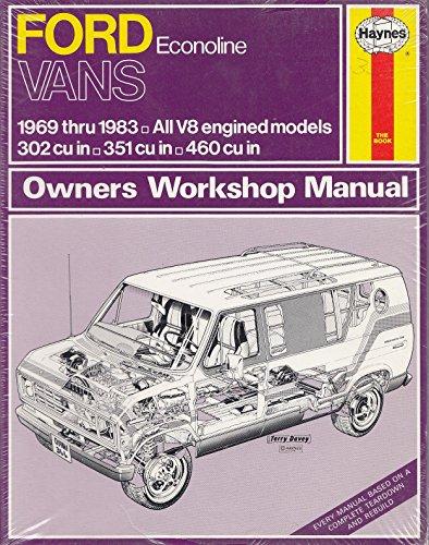 9781850100041: Ford Econoline Vans 1969-83 Owner's Workshop Manual