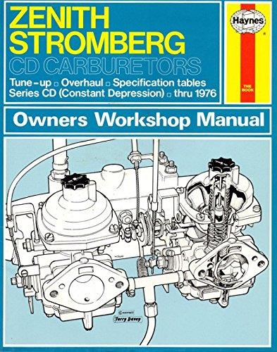 Haynes Owners Workshop Manual: Zenith Stromberg CD: Peers, Don