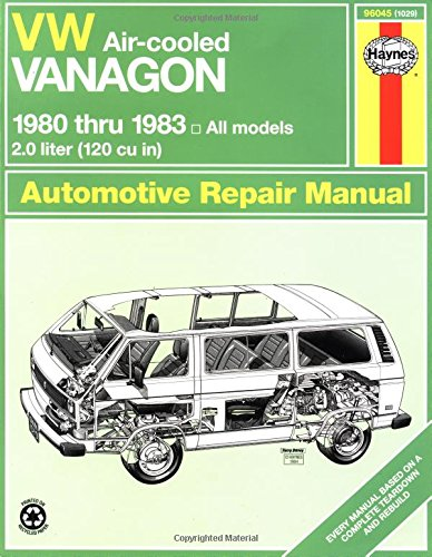 9781850100294: VW Vanagon (Air-Cooled), 1980-1983 (Haynes Manuals)