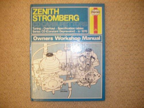 Zenith Stromberg CD Carburettors Owner's Workshop Manual: Peers, Don