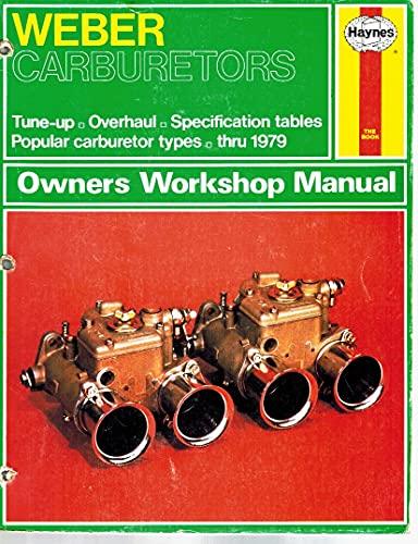 9781850100614 weber carburettors owners workshop manual haynes rh abebooks co uk weber carburetors owners workshop manual pdf