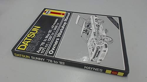 Datsun Sunny (Aug '78 to May '82): Jones, Haynes Alec