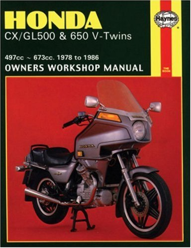 Honda CX/GL500 and 650 V-Twins 1978-86 Owner's Workshop Manual (Motorcycle Manuals): ...