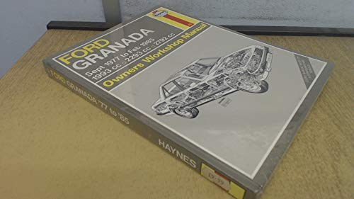 9781850101734: Ford Granada 1977-85 Owner's Workshop Manual