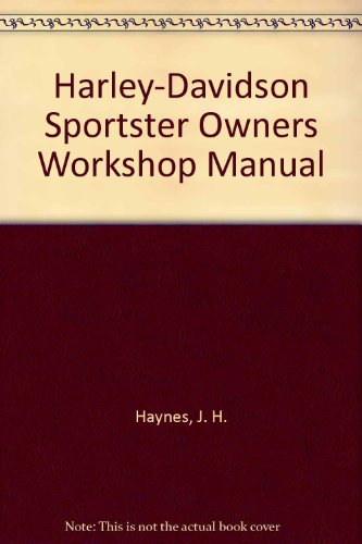 9781850101833: Harley-Davidson Sportster Owners Workshop Manual