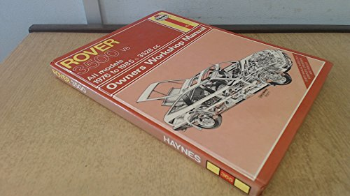 9781850101949: Rover 3500 Sd1 V8 '76 Thru '85 Owners Workshop Manual