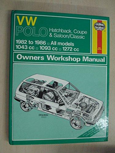 Volkswagen Polo 1982-86 Owner's Workshop Manual (9781850102052) by A K Legg