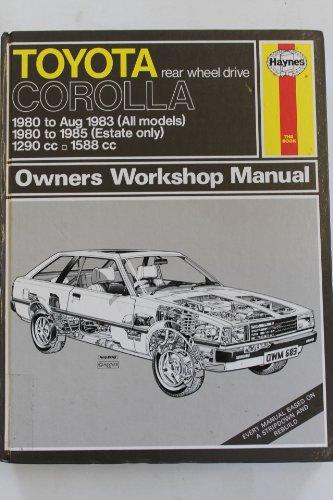 Toyota Corolla (80 - 85) Up To C (Hardcover): Haynes Publishing