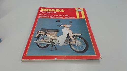 9781850102120 honda c50 c70 and c90 owner s workshop manual rh abebooks co uk Honda Z50 Honda GLX