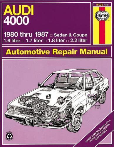 9781850102427: Audi 4000 '80'87 (Haynes Repair Manuals)