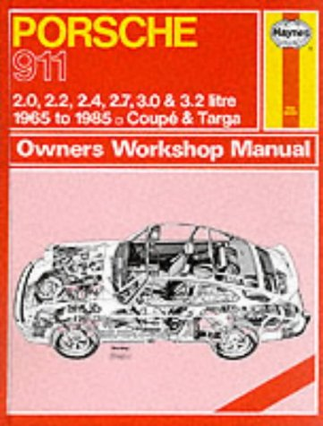 9781850102434: Porsche 911: Owners Workshop Manual, 1965 to 1985 - Coupe & Targa