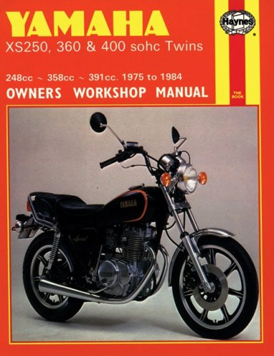 9781850102489: Yamaha XS250, 360, 400 sohc Twins '75'84(Haynes Manuals)