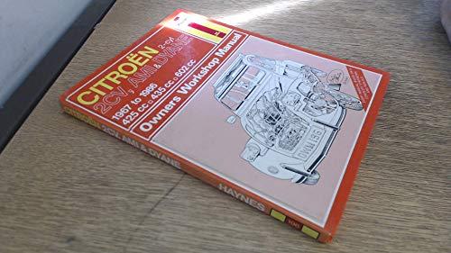 9781850102724: Citroen 2 Cylinder, 2CV Ami and Dyane 1967-86 Owner's Workshop Manual