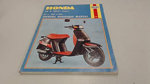 9781850102786: Honda NE and NB50 Vision 1985-86 Owner's Workshop Manual