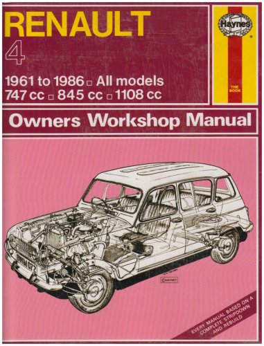 9781850102991: Renault 4 1961-86 Owner's Workshop Manual (Classic Reprints: Owner's Workshop Manual)