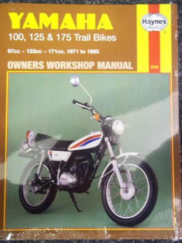 Yamaha 100, 125 & 175 Trail Bikes: 97Cc-123Cc-171Cc. 1971 to 1985 Owners Workshop Manual (...