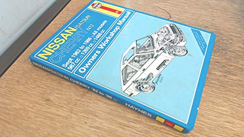 Nissan Cherry (N12) (Sep '82 to '86) (Service and Repair Manuals) (Service & Repair Manuals) (9781850103219) by A.K. Legg